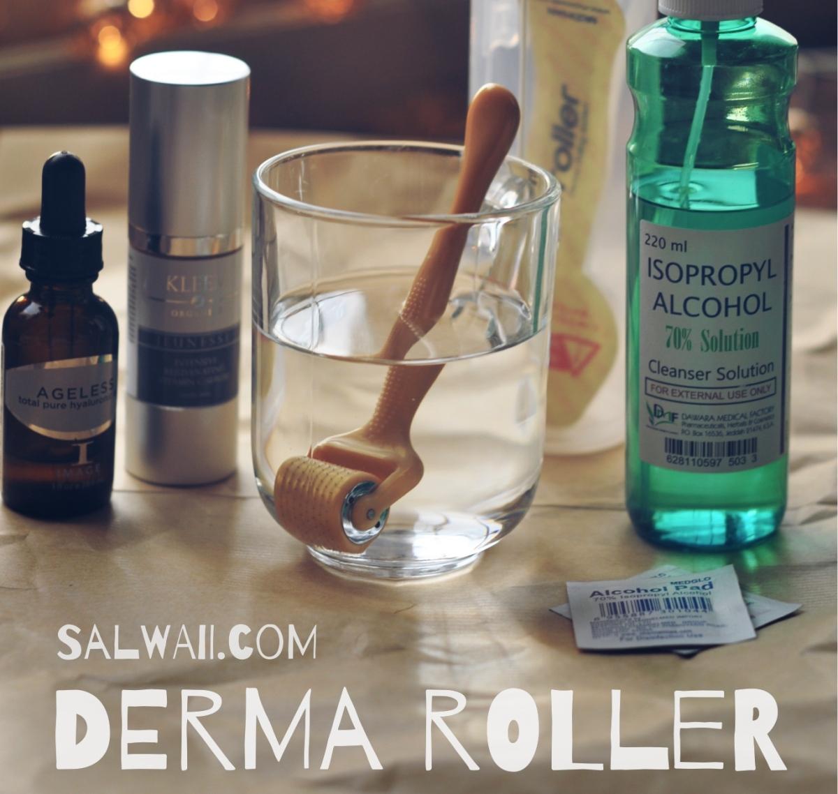الديرما رولر: النوع،طريقة الإستخدام، النتائج Derma Roller